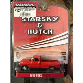 GREENLIGHT COLLECTABLES GLC 44870-B 69 FORD F-100 STARSKY & HUTCH 1/64 DIECAST
