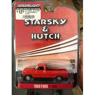 GREENLIGHT COLLECTABLES GLC 44870-B 69 FORD F-100 STARSKY & HUTCH 1/64 DIECAST