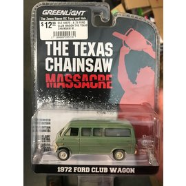 GREENLIGHT COLLECTABLES GLC 44870-A 72 FORD CLUB WAGON THE TEXAS CHAINSAW MASSACRE