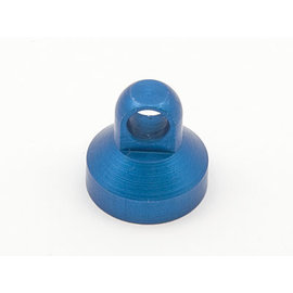 Team Associated ASC 6439 SHOCK CAP BLUE ALUMINUM