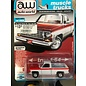 AUTOWORLD A/W 64242C10 CHEVY SCOTTSDALE C10 WHITE/RED 1/64