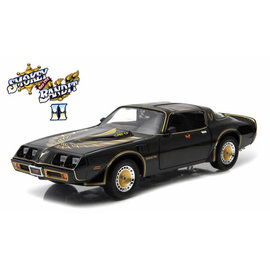 GREENLIGHT COLLECTABLES GLC 12944 SMOKEY AND THE BANDIT 2 1980 TRANS AM 1/18 DIECAST
