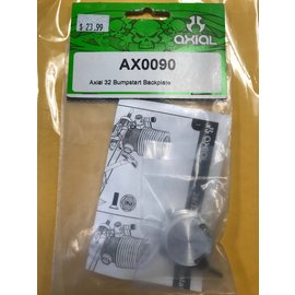 AXIAL RACING AXI 0090 .32 BUMPSTART BACKPLATE 0.32