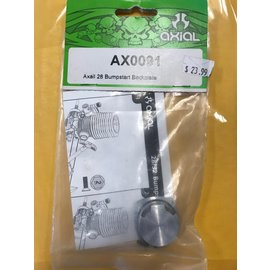 AXIAL RACING AXI 0091 .28 BUMP START BACKPLATE 0.28