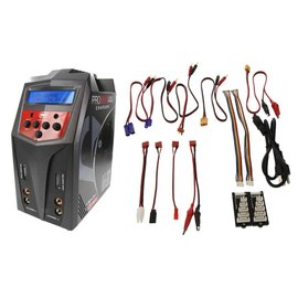 Venom Racing VNR 0685 Pro Duo 80W X2 Dual AC/DC 7A LiPo/LiHV&NiMH Battery Charger