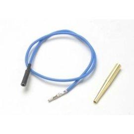TRAXXAS TRA 4581X Lead wire, glow plug (blue) (EZ-Start® and EZ-Start® 2)