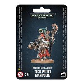GAMES WORKSHOP WAR 99070116002 ADEPTUS MECHANICUS TECH-PRIEST MANIPULUS