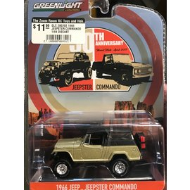 GREENLIGHT COLLECTABLES GLC 28020E 1966 JEEPSTER COMMANDO 1/64 DIECAST