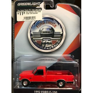 GREENLIGHT COLLECTABLES GLC 28020D 1992 FORD F150 1/64 DIECAST