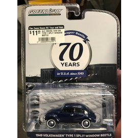 GREENLIGHT COLLECTABLES GLC 28020A 1949 VW TYPE 1 SPLIT WINDOW BEETLE