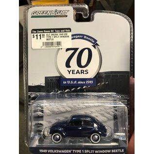 GREENLIGHT COLLECTABLES GLC 28020A 1949 VW TYPE 1 SPLIT WINDOW BEETLE