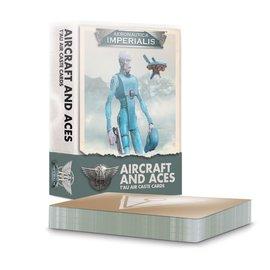 GAMES WORKSHOP WAR 60051813001 AERONAUTICA IMPERIALIS AIRCRAFT AND ACES T'AU AIR CASTE CARDS