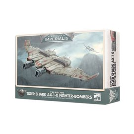 GAMES WORKSHOP WAR 99121813003 AERONAUTICA IMPERIALIS T'AU AIR CASTE TIGER SHARK AX-1-0 FIGHTER-BOMBERS