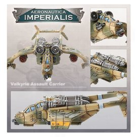 GAMES WORKSHOP WAR 99121808005 AERONAUTICA IMPERIALIS ASTRA MILITARUM VALKYRIE ASSAULT CARRIERS