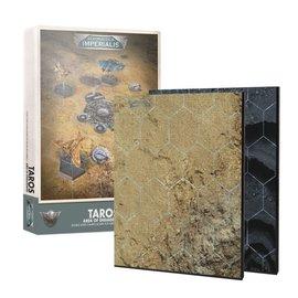 GAMES WORKSHOP WAR 99221899003 AERONAUTICA IMPERIALIS TAROS AREA OF ENGAGMENT GAMING BOARD