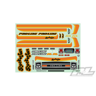 "Proline Racing PRO 355200 70'S ROCK VAN CLEAR BODY FOR 12.3"" (313mm) WHEELBASE SCALE CRAWLERS"
