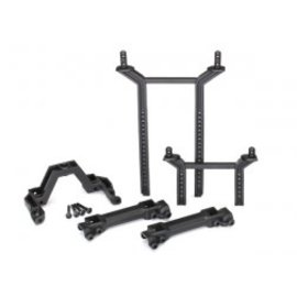 TRAXXAS TRA 8215 Body mounts & posts, front & rear (complete set)