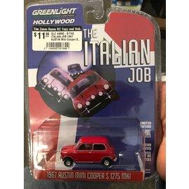 GREENLIGHT COLLECTABLES GLC 44880-B THE ITALIAN JOB 1967 AUSTIN Mini Cooper S 1275 MKI RED