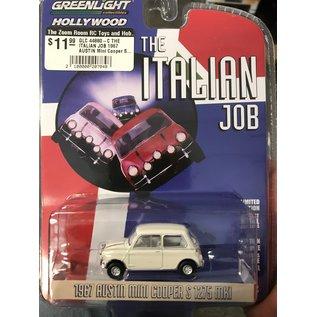 GREENLIGHT COLLECTABLES GLC 44880-C THE ITALIAN JOB 1967 AUSTIN Mini Cooper S 1275 MKI WHITE