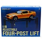 GREENLIGHT COLLECTABLES GRE 12884 FOUR-POST HOIST BLUE (RE-RUN) 1/18 DIECAST
