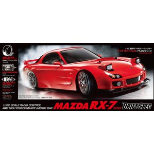 TAMIYA TAM 58648 Mazda RX-7, FD3S, TT-02D 4WD On Road Drift Spec KIT