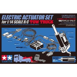 TAMIYA TAM 56553 ELECTRIC ACTUATOR SET FOR 1/14 SCALE R/C TOW TRUCK
