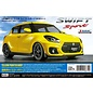 TAMIYA TAM 58679 SWIFT SPORT M-05L KIT YELLOW PAINTED BODY