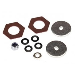 TRAXXAS TRA 8254 Rebuild kit, slipper clutch (steel disc (2)/ friction insert (2)/ 4.0mm NL (1)/ spring washers (4), metal washer (1))