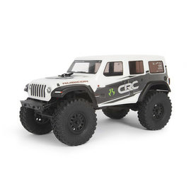 AXIAL RACING AXI 00002T1 SCX24 2019 Jeep Wrangler JLU CRC 1/24 4WD-RTR WHT