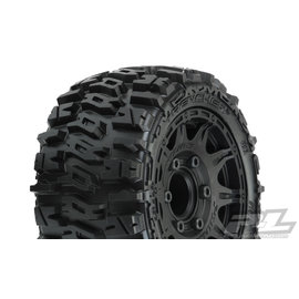 "Proline Racing PRO 10159-10 Trencher LP 2.8"" All Terrain Tires Mounted on Raid Black"