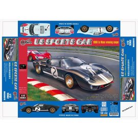 TRUMPETER MAG 00019 US SPORTS CAR 24 HOUR ENDURANCE RACING CAR