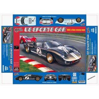 TRUMPETER MAG 00019 US SPORTS CAR 24 HOUR ENDURANCE RACING CAR