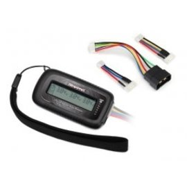TRAXXAS TRA 2968X LiPo cell voltage checker/balancer (includes #2938X adapter for Traxxas iD batteries)
