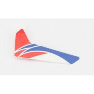 BLH BLH 3520R RED VERTICAL FIN WITH DECAL MCPX