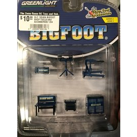 GREENLIGHT COLLECTABLES GLC 16040A BIGFOOT SHOP TOOLS AND ACCESSORIES 1/64
