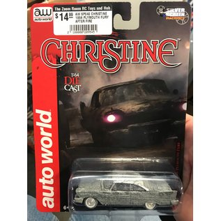 AUTOWORLD AW SP040 CHRISTINE 1958 PLYMOUTH FURY AFTER FIRE