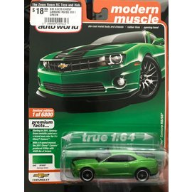 AUTOWORLD AW 03726 CHEVY CAMARO RS/SS 2011 GREEN