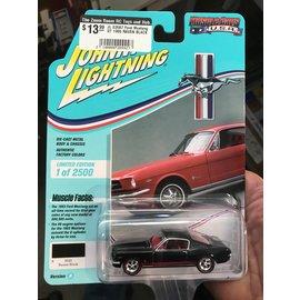 JOHNNY LIGHTNING JL 03587 Ford Mustang GT 1965 RAVEN BLACK