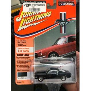 JOHNNY LIGHTNING JL 03593 Ford Mustang GT 1965 CASPIAN BLUE POLY