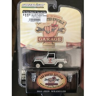 GREENLIGHT COLLECTABLES GLC 39010E BUSTED KNUCKLE GARAGE SERIES 1 2012 Jeep Wrangler