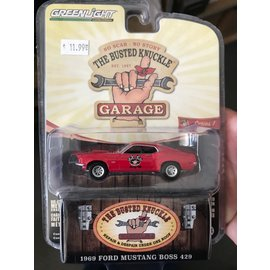GREENLIGHT COLLECTABLES GLC 39010 BUSTED KNUCKLE GARAGE SERIES 1 1969 MUSTANG BOSS 429