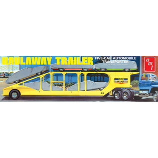 AMT AMT 1193 1/25 5-Car Hallway Trailer 1/25 MODEL KIT