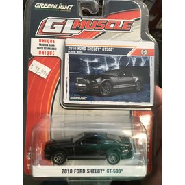 GREENLIGHT COLLECTABLES GLC 13160A  FORD SHELBY GT500 2010 1/64