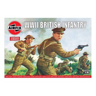 AIRFIX AIR A00763V WWII BRITISH INFANTRY