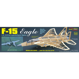 GUILLOWS GUI 1401 F15 EAGLE BALSA WOOD KIT