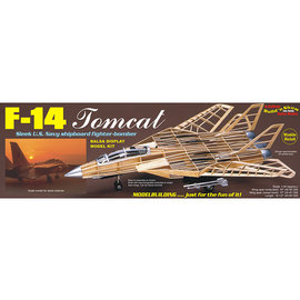 GUILLOWS GUI 1402 1/40 F-14 Tomcat Static Display  wooden Kit