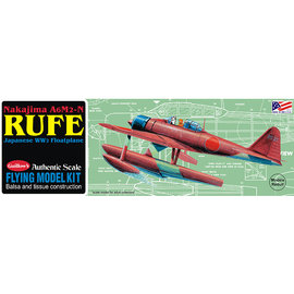 GUILLOWS GUI 507 RUFE BALSA JAPANESE WW2 FLOATPLANE