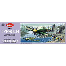 GUILLOWS GUI 906 TYPHOON BALSA MODEL KIT