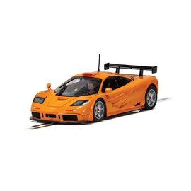 SCALEXTRIC SCA C4102 MCLAREN F1GTR PAPAYA ORANGE