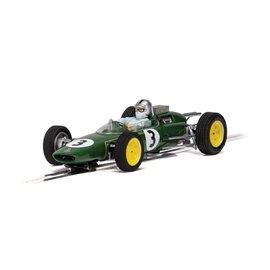 SCALEXTRIC SCA C4083 LOTUS 25 JACK BRABHAM MONACO 1963 WORLD CHAMPIONSHIP